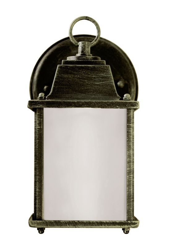 Trans Globe Lighting 40455 Purisima Mission 1 Light Lantern Outdoor Wall Sconce Verde Green