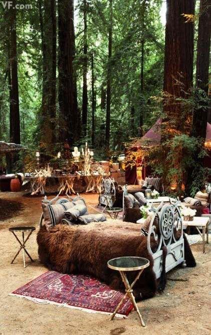Wedding Forest Bohemian Big Sur 52+ Ideas -   9 wedding Forest honeymoons ideas