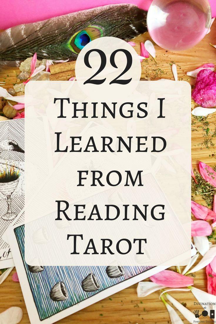 22 things i learned from reading tarot tarot learning