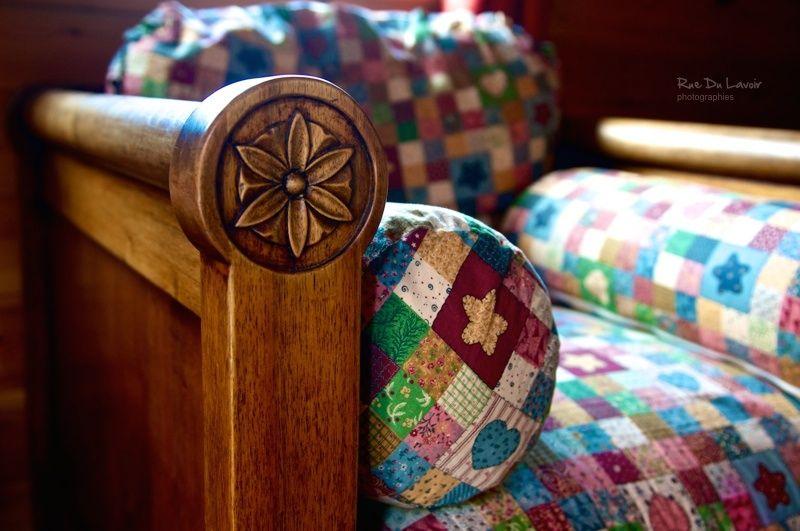 Le fauteuil en bois