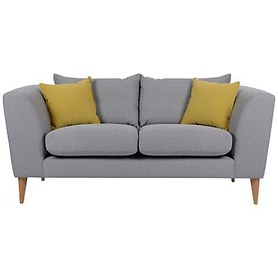 Best Big Squashy Grey Sofa With Yellow Cushions Sofa 400 x 300