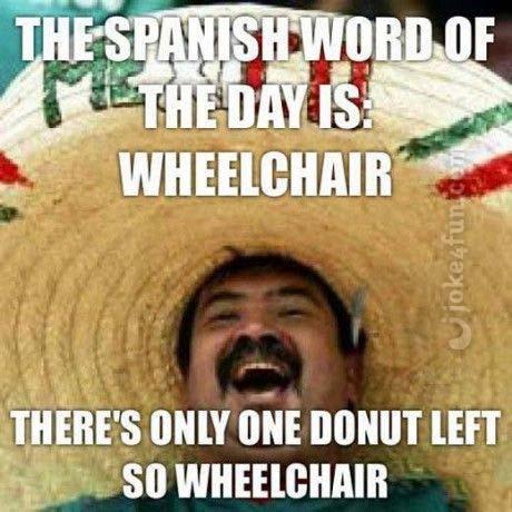 Joke4fun Memes Spanish Word Of The Day In 2020 Funny Spanish Memes Funny Memes Images Super Funny Memes