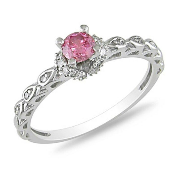 I love pink stones