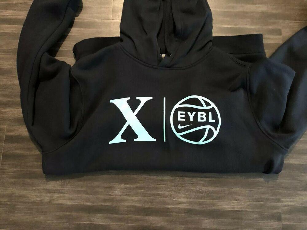 Sponsored Ebay Nike Eybl Elite Youth Basketball League Hoodie Hoody Sweatshirt Xl Sweatshirts Sweatshirts Hoodie Youth Basketball