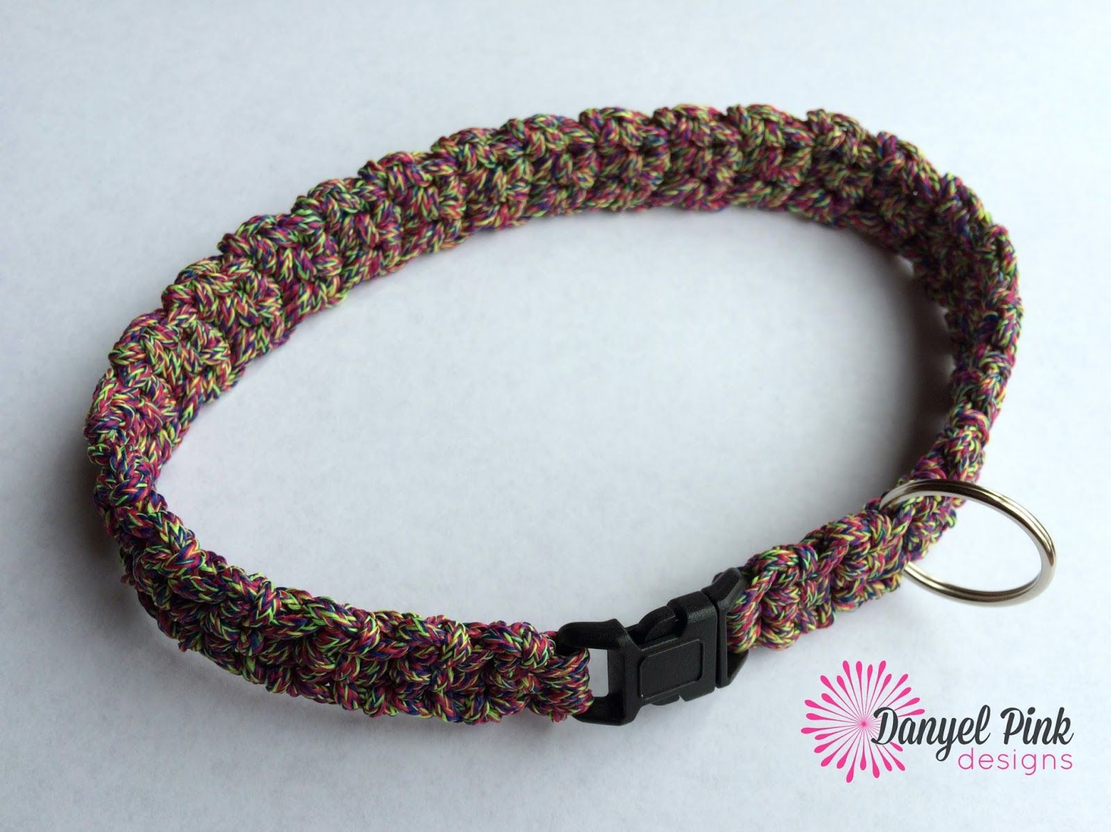 Danyel Pink Designs: FREE Crochet Pattern - Cordial Pet Collar | Pet ...