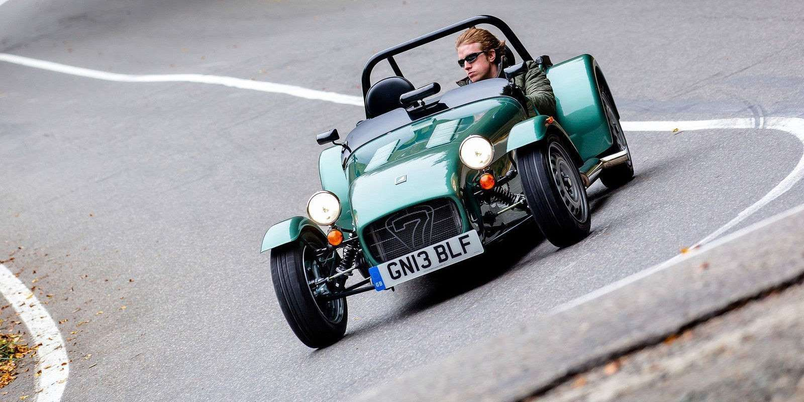 When you buy a Caterham Seven, you're getting a car with one of the most iconic designs in all of au... - Provided by Road and Track