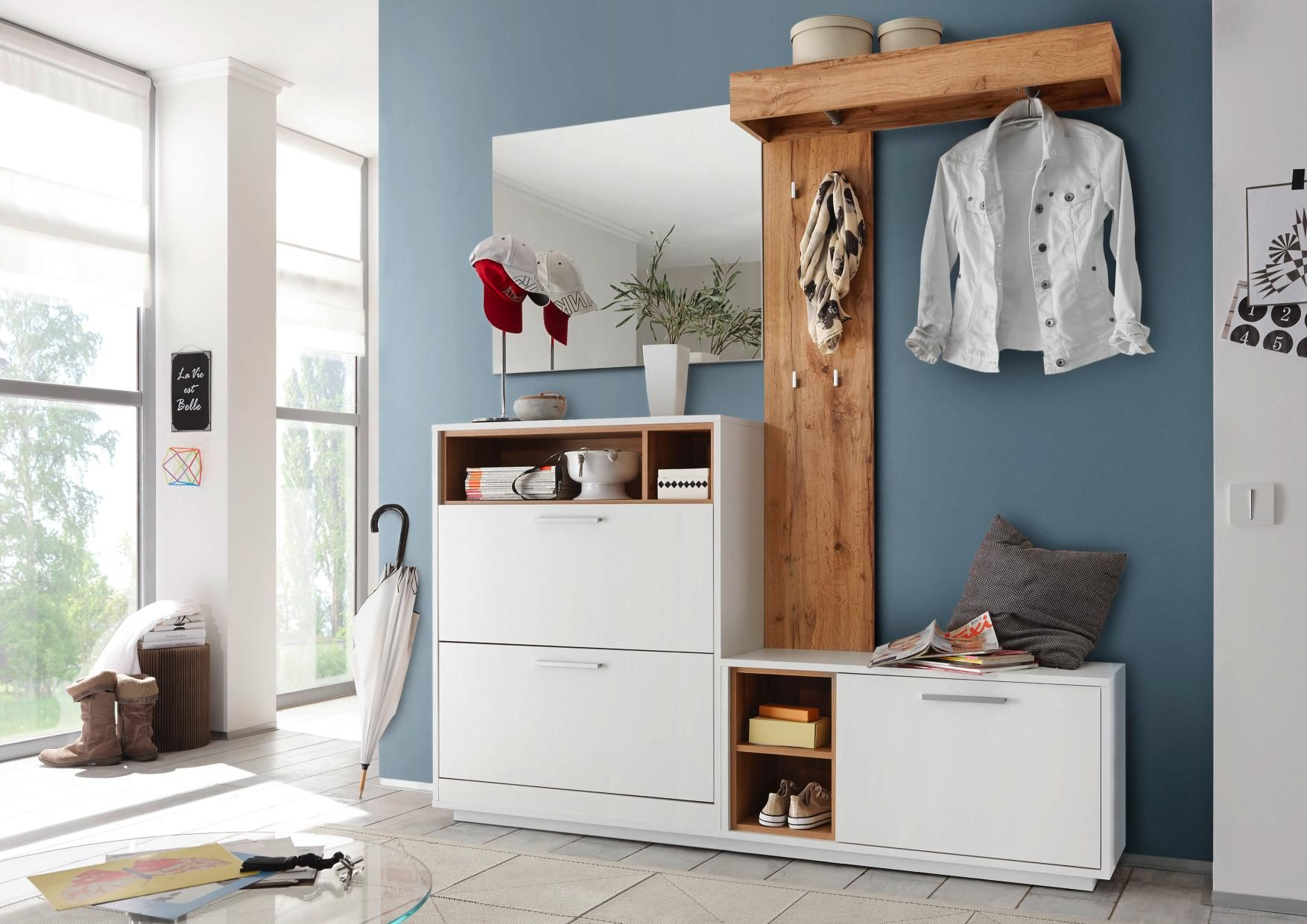 Carry Home Garderobe Garderobenset Garderoben Set