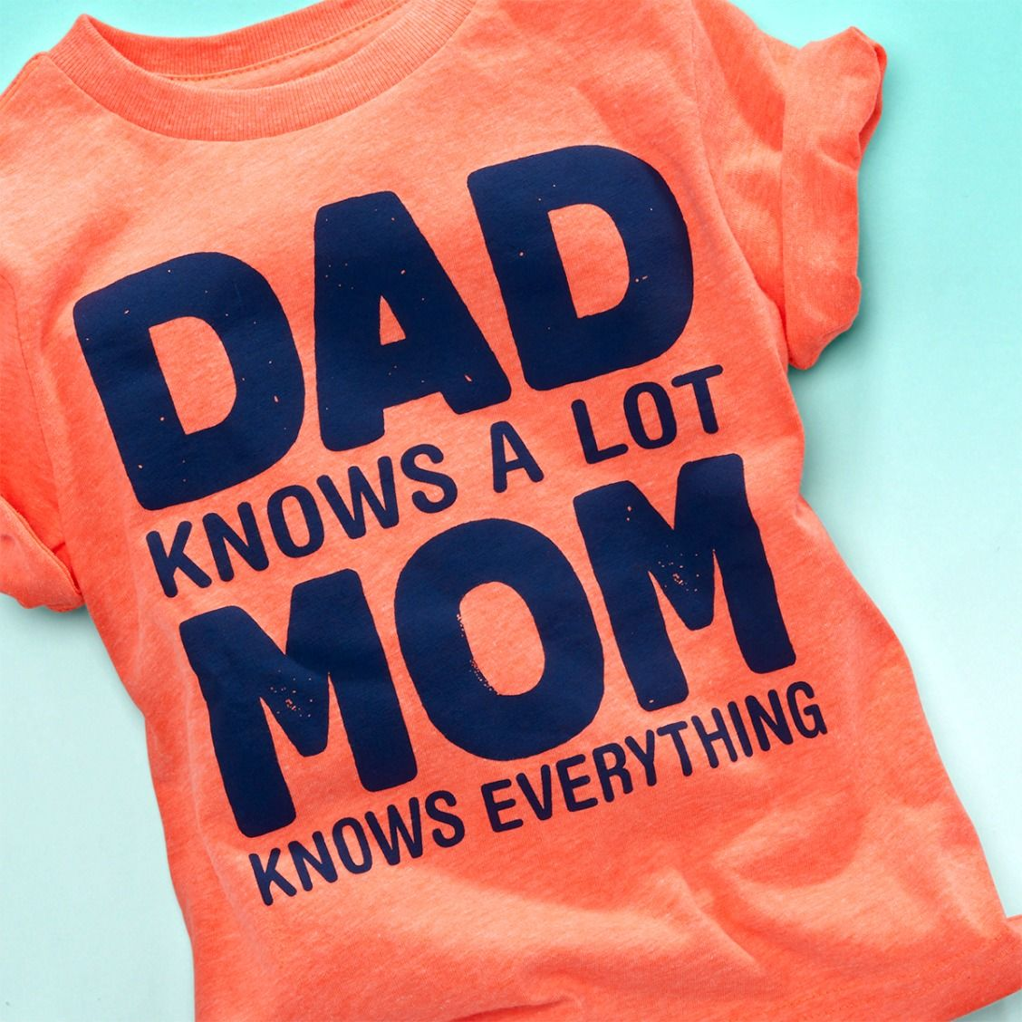 0b4a63ba Toddler boys' fashion | Toddler clothes | 'Dad Knows A Lot Mom Knows  Everything' | Graphic Tee | Mother's Day | The Children's Place