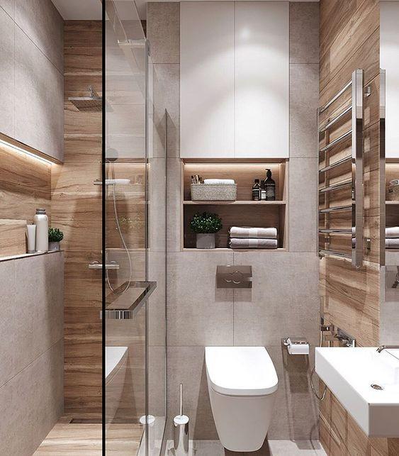 25 Minimalist Small Bathroom Ideas Feel The Big Space Pandriva Small Bathroom Bathroom Design Small Small Bathroom Makeover