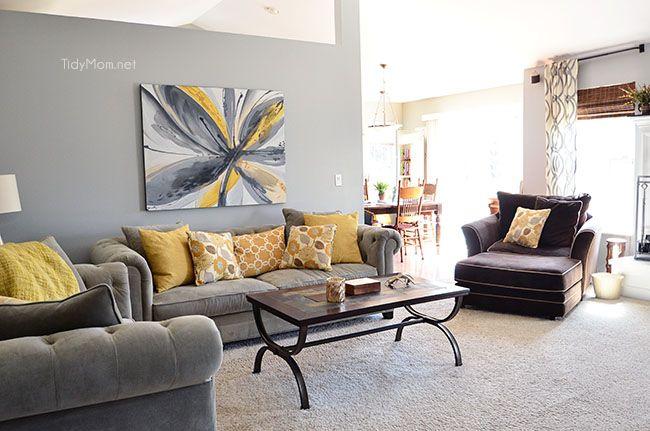 Family Room Makeover Ikea Vittsj 214 Home Things Family