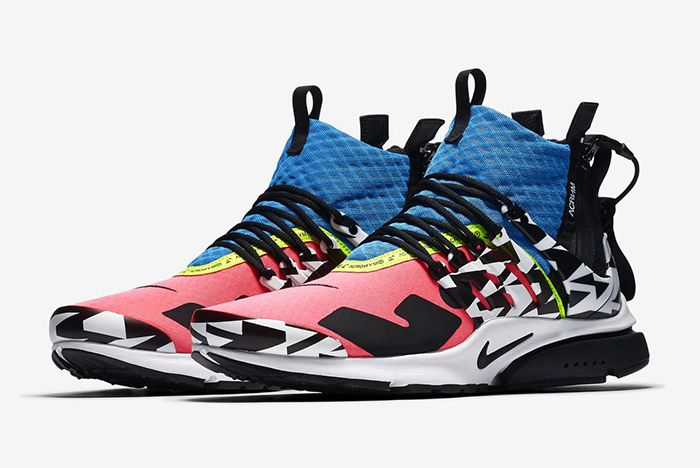 online store c329d 52960 ACRONYM x Nike Air Presto Mid Official Look