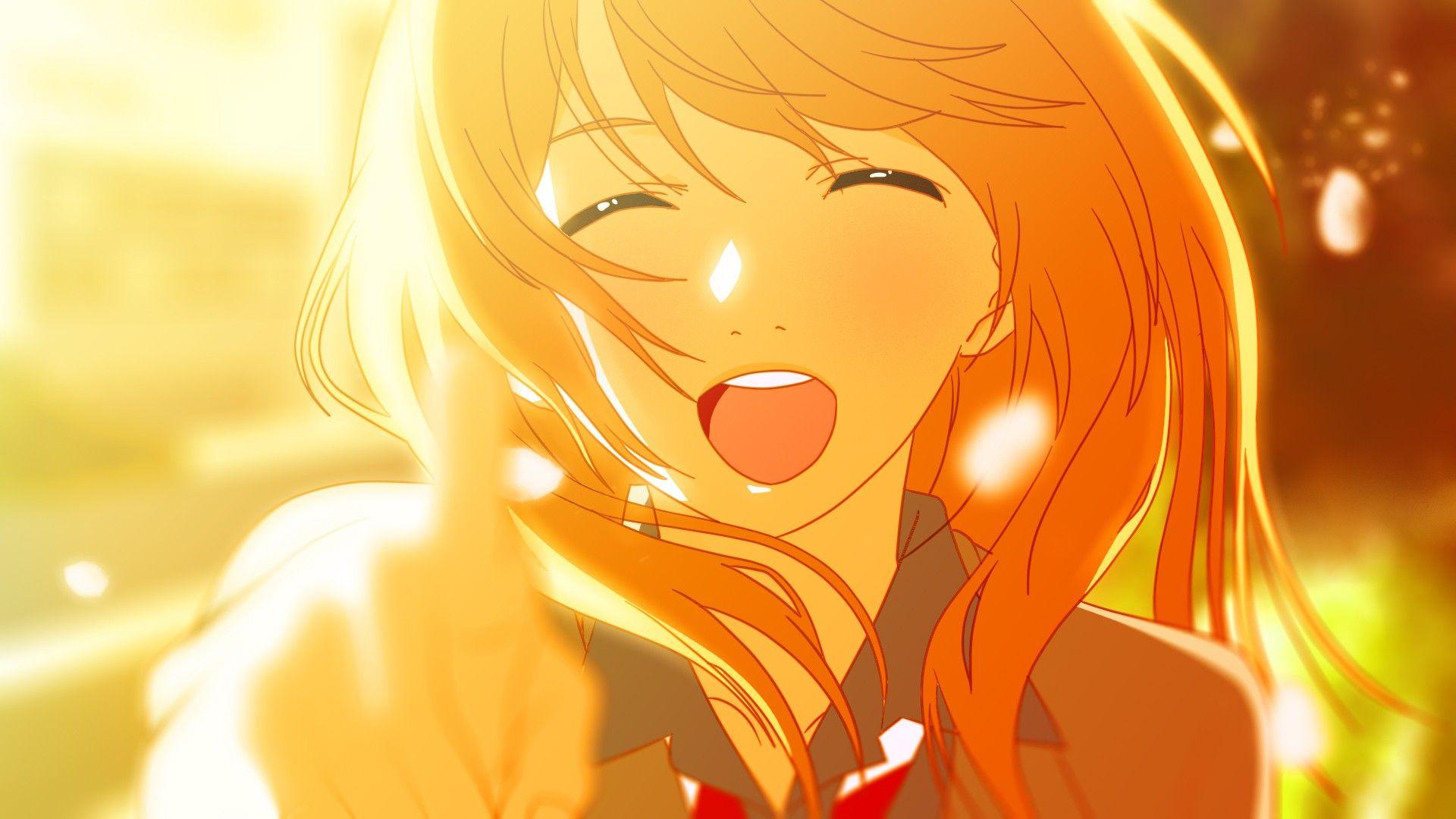Anime Your Lie In April Kaori Miyazono Wallpaper