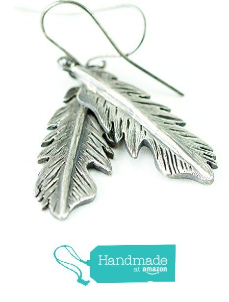 Sterling Feather Earrings by All Wired Up Jewelry Designs from All ...
