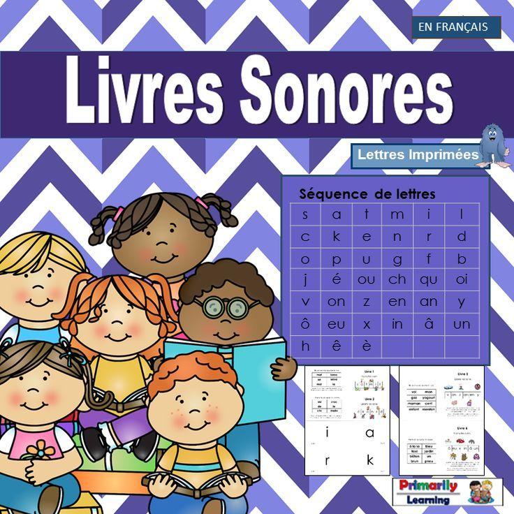 French: Livres Sonores complements programs like Le manuel phonique