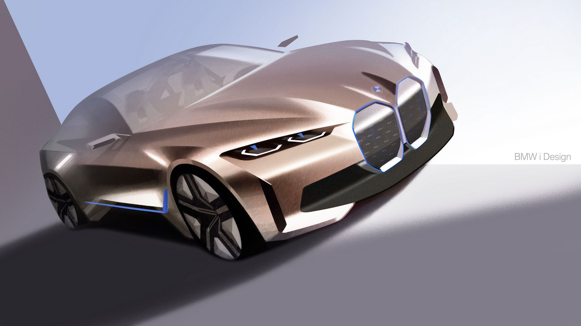 Bmw Concept I4 Previews Production Model Coming In 2021 Carscoops In 2020 Bmw Concept Bmw Design Bmw Sketch