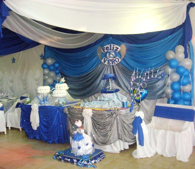 Fiesta de 15 anos decoracion y ambientacion de salones for Decoracion salones