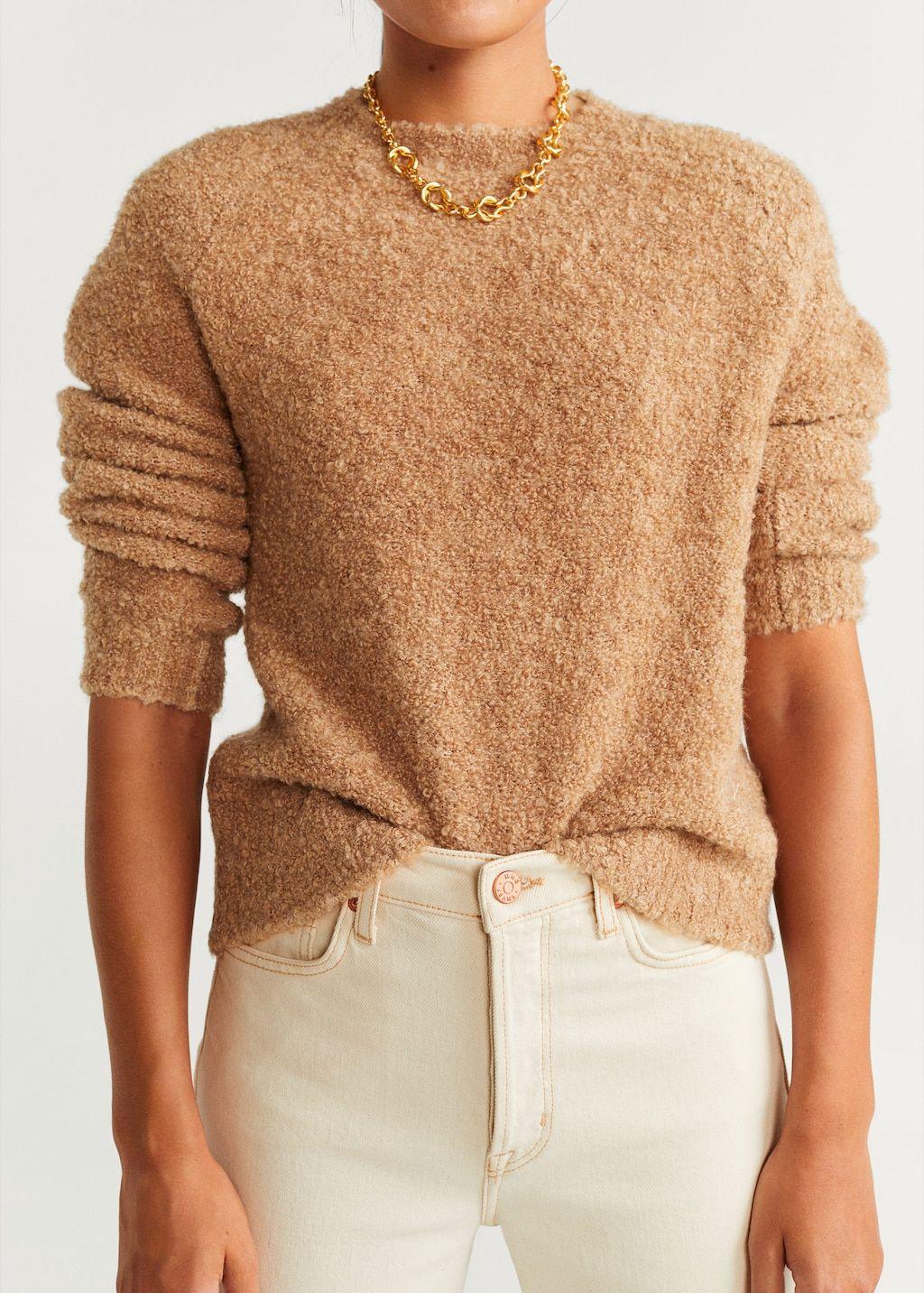 Tricolor ribbed sweater Women | Mango USA | Knitting women