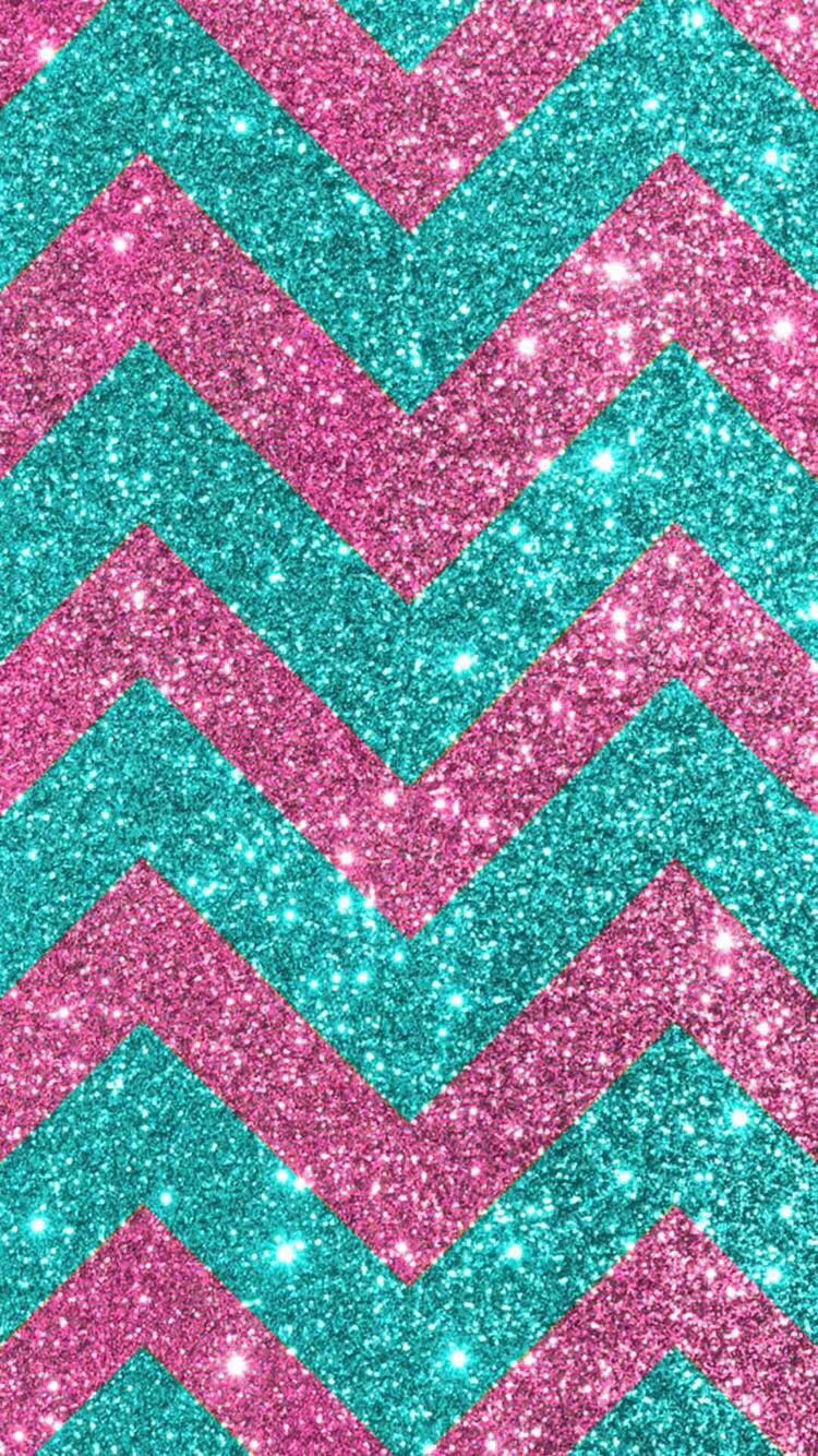 Cell Phone Backgrounds Chevron Sparkles