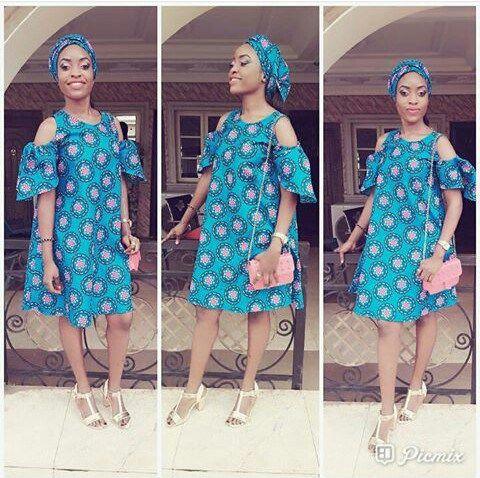 Fabulous Ankara Short Gown Dresses | African Fashion | Pinterest ...