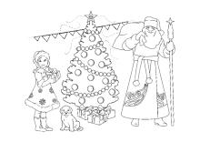Ausmalbilder Zu Weihnachten Weihnachtsmann Nikolaus Und Adventszeit Weihnachtsmann Adventszeit Weihnachten