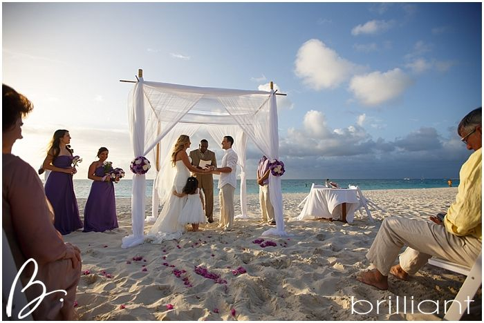 A relaxed colourful and intimate destination wedding at Grace Bay Club, TCI-Brilliant Studios