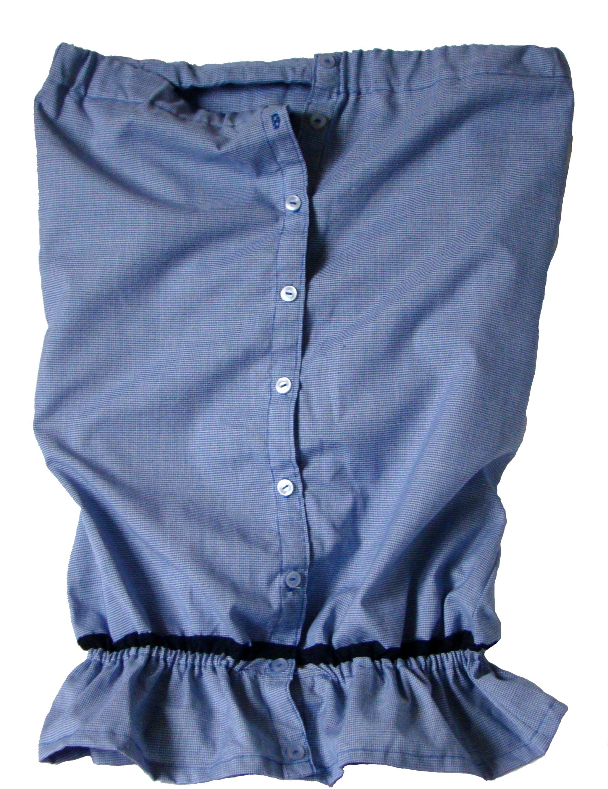 tunika niebieska