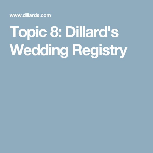 Topic 8 Dillards Wedding Registry Mid High Wedding Book