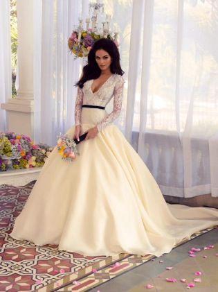benito santos diseñador mexicano hermoso vestido de novia, modelo