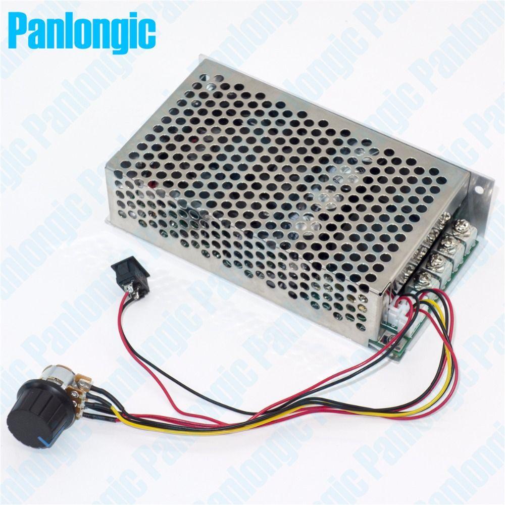 10 50v 100a 5000w Programable Reversible Dc Motor Speed Controller Soft Start For Power Supply Pwm Control 12v 24v 36v 48v Forward Reverse Switch