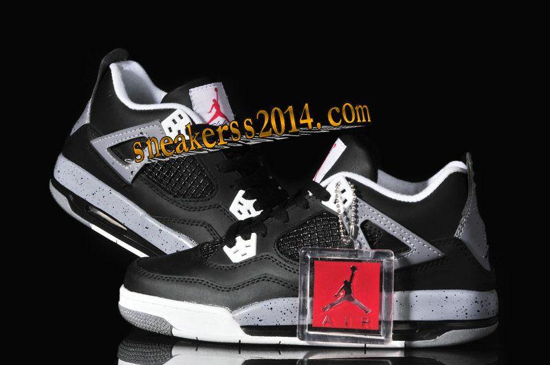 6880a01d7ed9  59.17  Air  Jordan 4 Oreo #Womens Cement Grey Black White #life