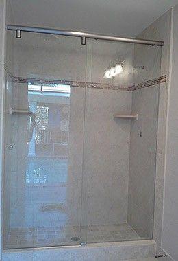 Frameless Sliding Shower Door Hydroslide Layout 1 Sliding Shower Door Frameless Sliding Shower Doors Shower Doors