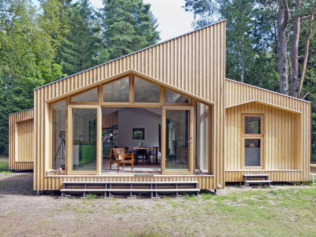 Timber Clad Exterior : Case moderne di Facit Homes | Volevo una ...