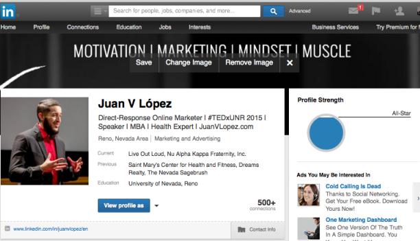 linkedin profile header template psd career pinterest career