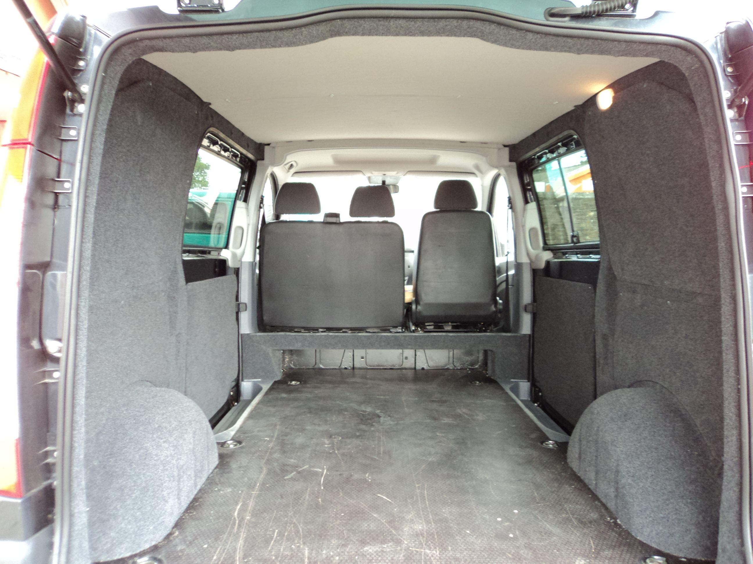We Have Recently Insulated Ply Lined And Carpeted A Mercedes Vito As Well Lining The Roof Panels To Make Van Look Nice On Inside It Does