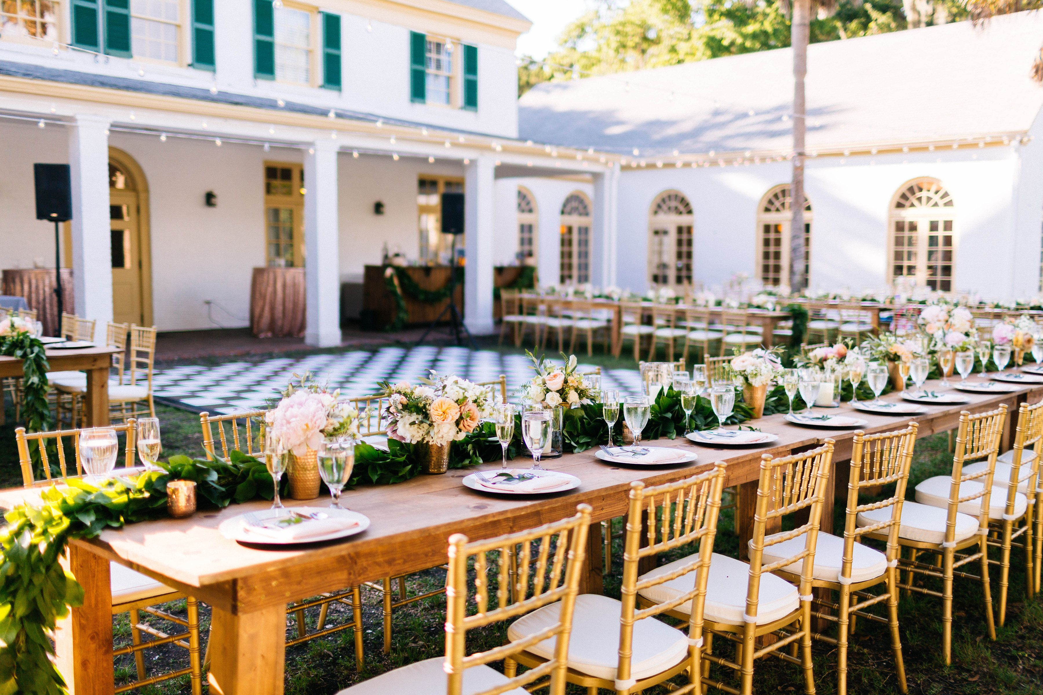 wedding chair hire algarve easy dimensions our very own black white checkered dance floor christina karst photography luxe party rentals www luxepartyrentals com