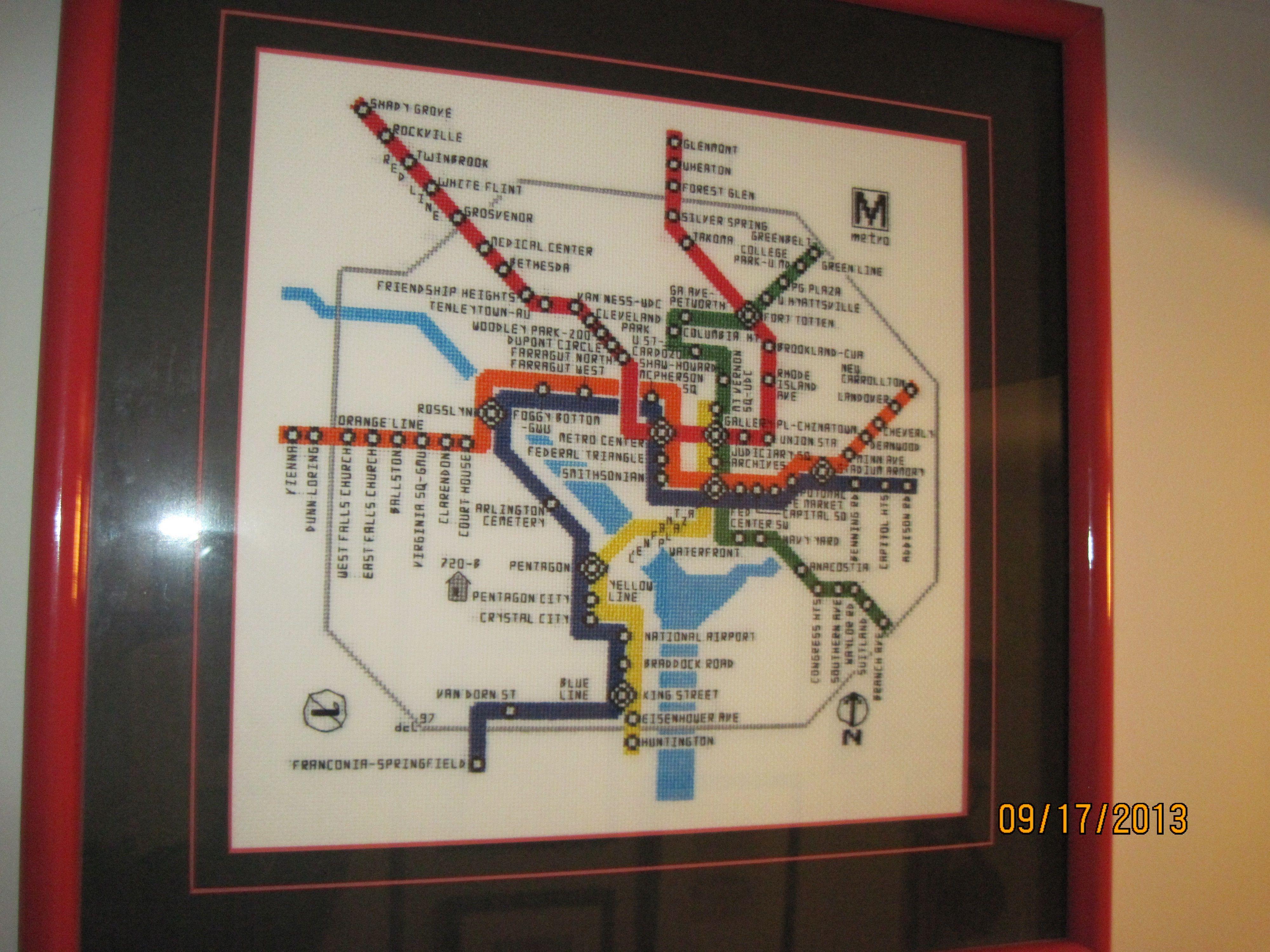 DC Metro Map DC Metro Map