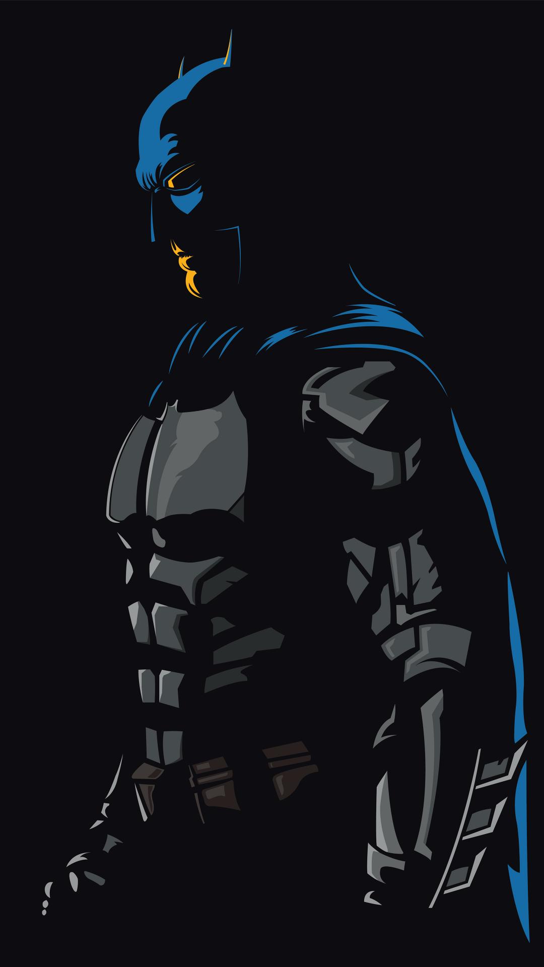 Minimal / Batman Wallpaper in 2020 Iphone wallpaper
