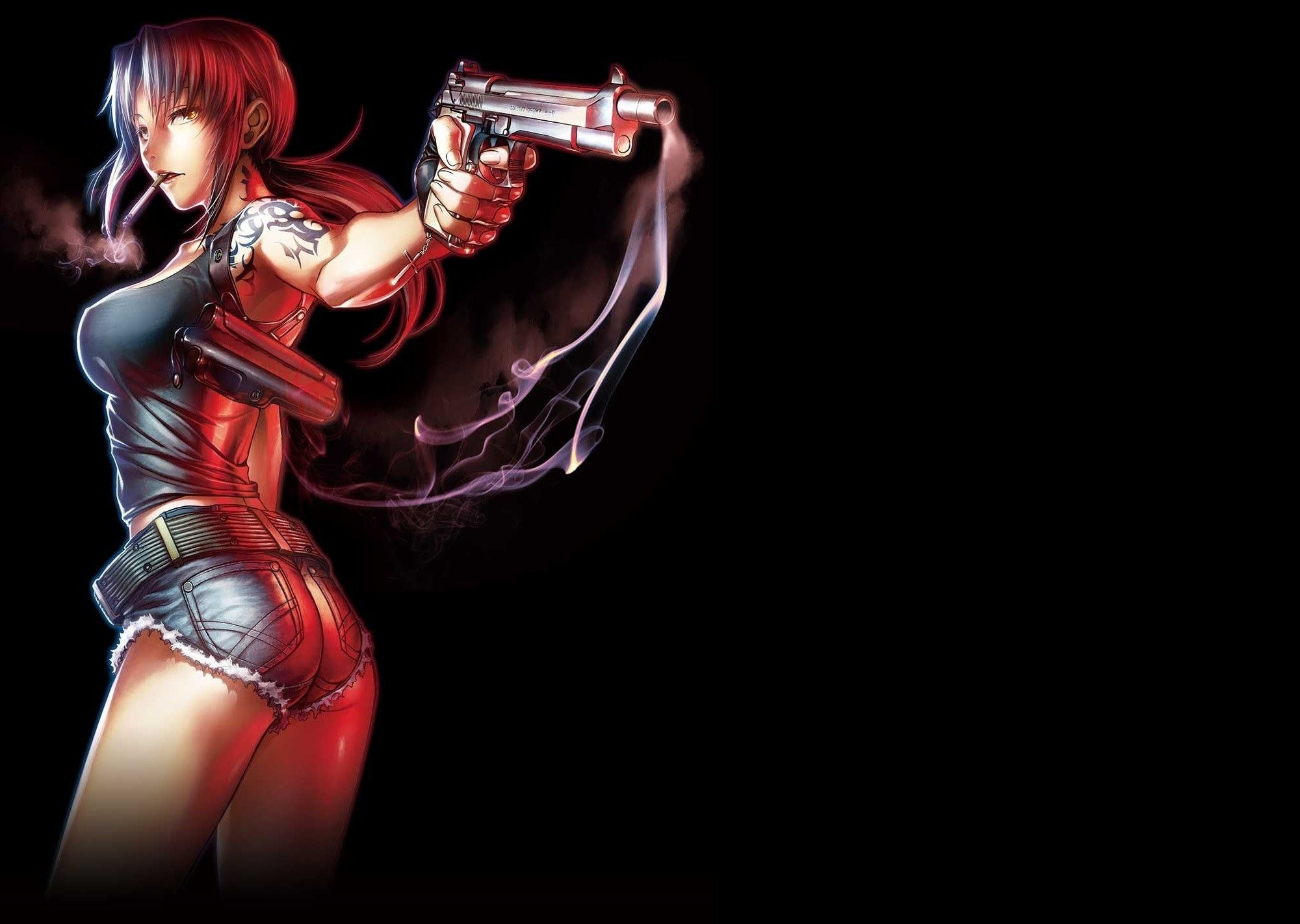 Undefined Revy Black Lagoon Wallpapers 42 Wallpapers