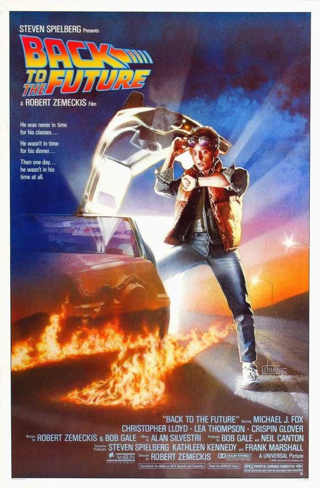 Back To The Future 2 1989 Stretched Canvas Wall Art Film Movie Poster Print 80s