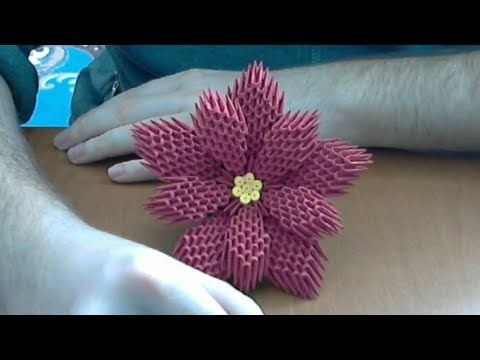 Easy Paper Flowers Poinsettia - Red Ted Art - Make crafting with ... | 360x480
