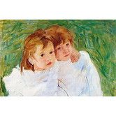 Found it at Wayfair - 'Two Sisters' by Mary Cassatt Painting Print