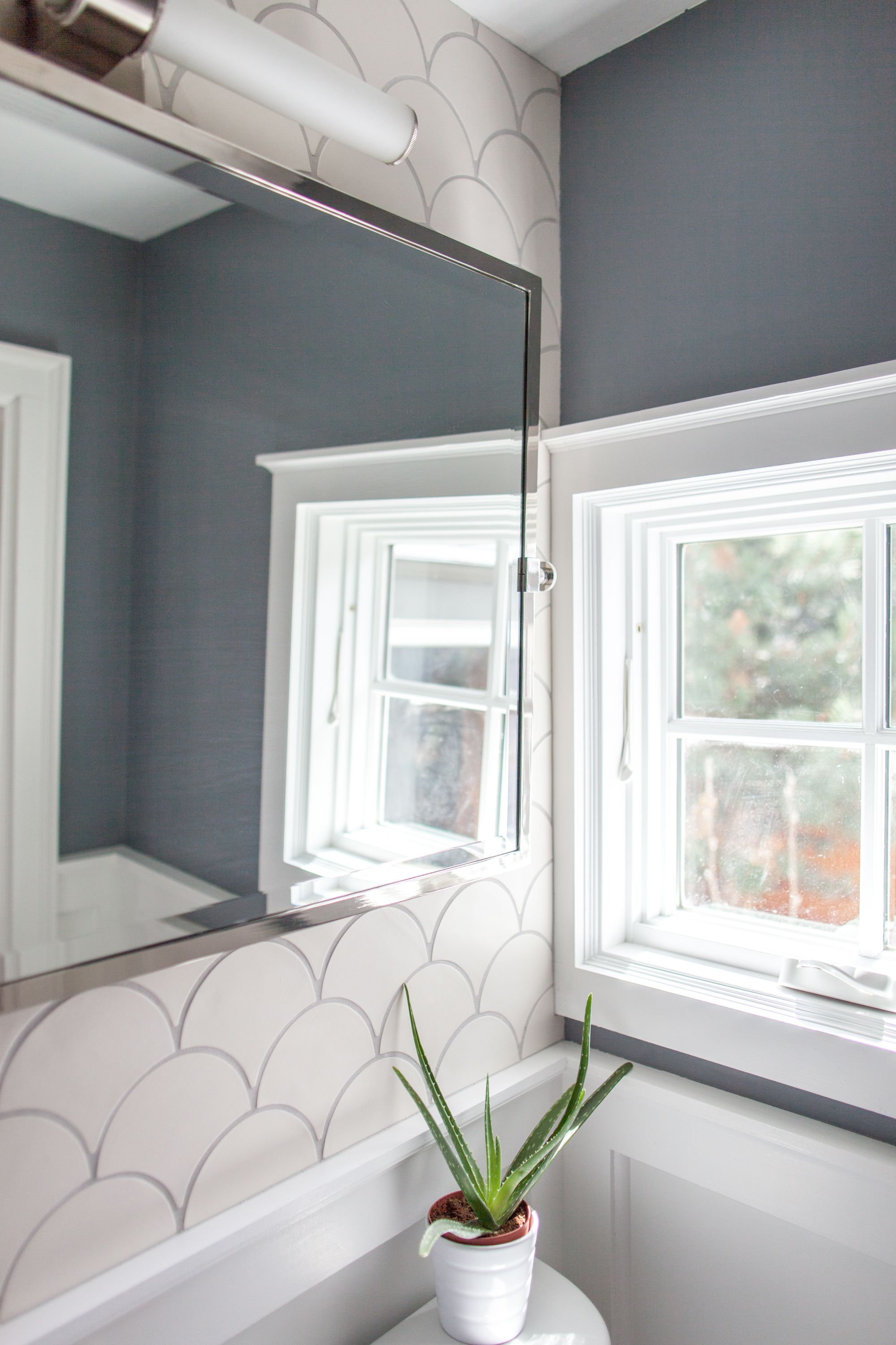 How to Tile a Small Space on a Budget   Small spaces, Powder room ...