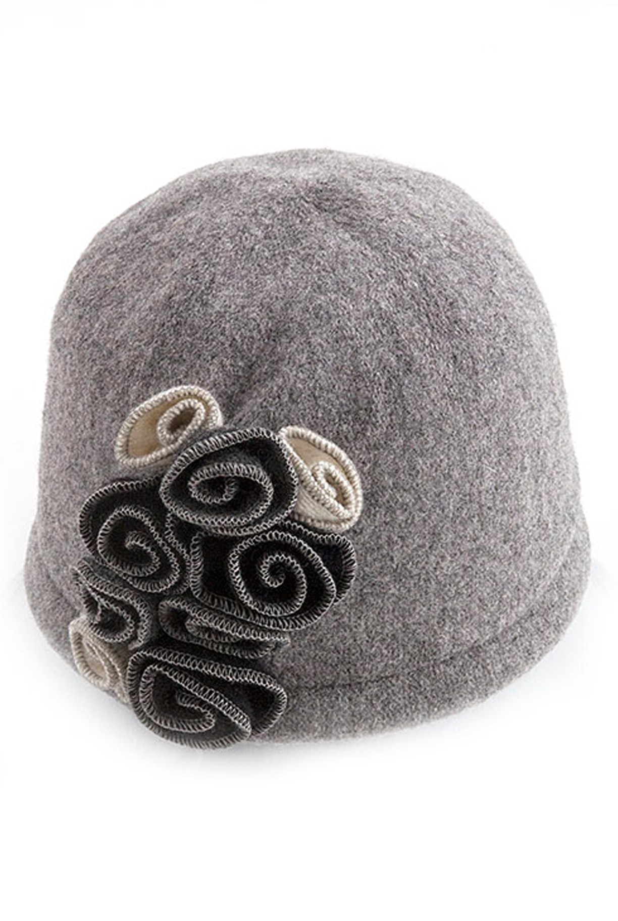 c0bfe952d14 Coco Chanel Hat - This Coco Chanel inspired hat has a classic 1920 s style  with complimentary rose accents on the side. Wear it with a flapper  inspired ...