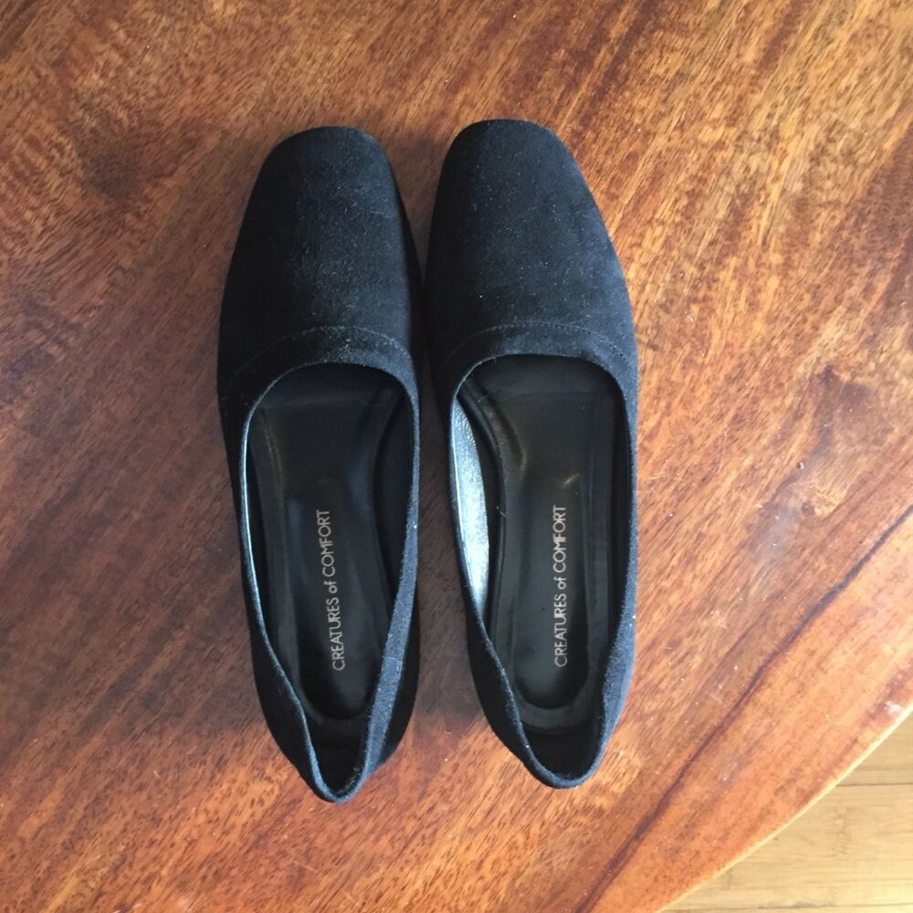 f350ab73 CREATURES OF COMFORT black suede flats size 36 6 Italy NYC #fashion  #clothing #shoes #accessories #womensshoes #flats (ebay link)