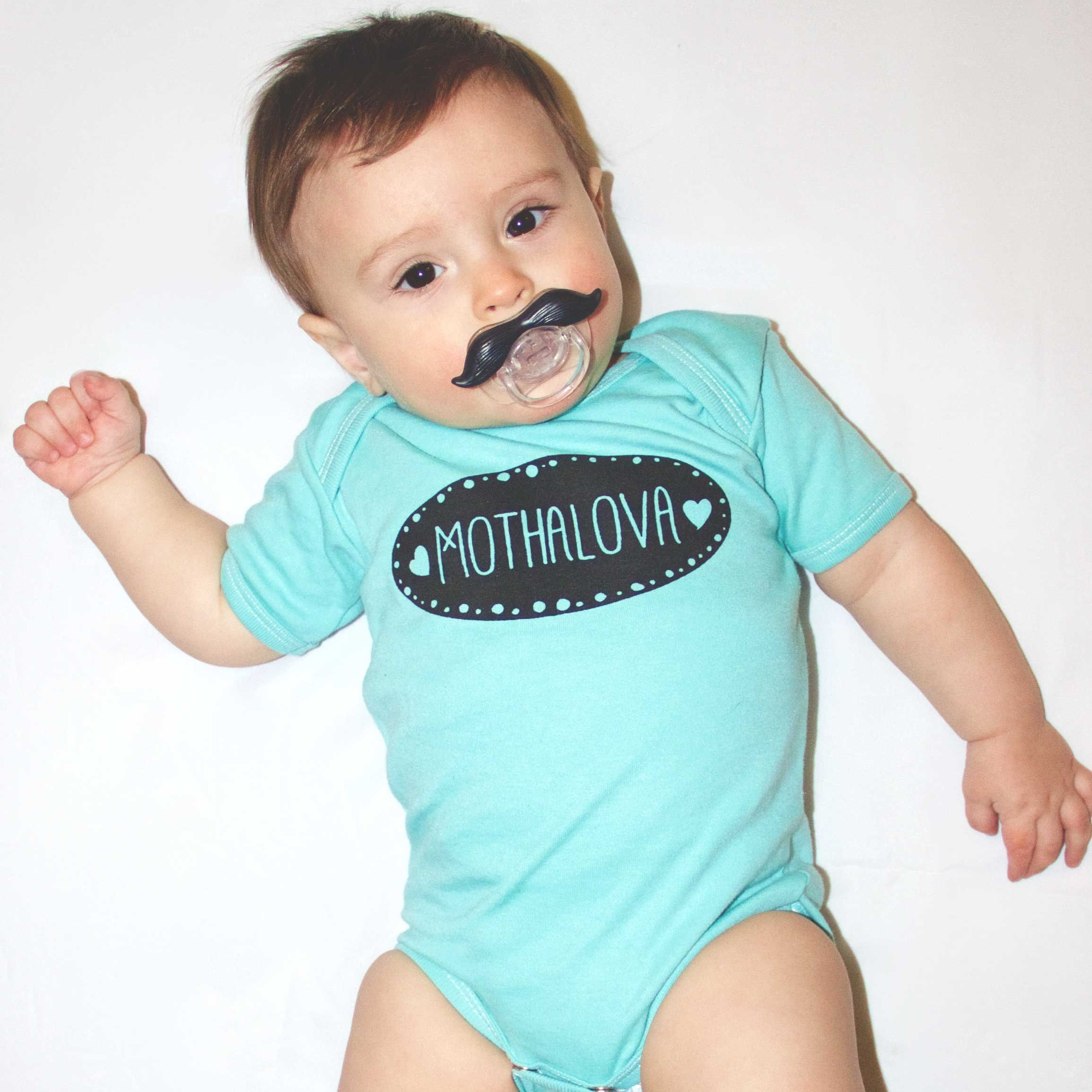 "Fancy Bodysuit ""Mothalova"" Baby boy Outfit"