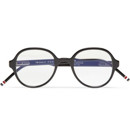 Thom Browne Round-Frame Acetate Optical Glasses | MR PORTER