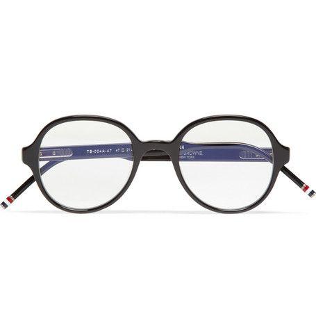 Thom Browne Round-Frame Acetate Optical Glasses | MR PORTER