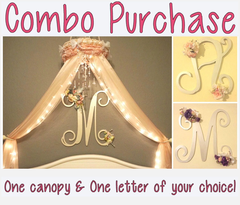 COMBO PURCHASE!!-Nursery Canopy-Crib Canopy-Baby Canopy-Baby Crib ...