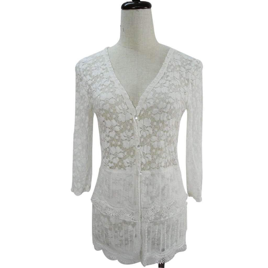 White lace Cardigan | Products