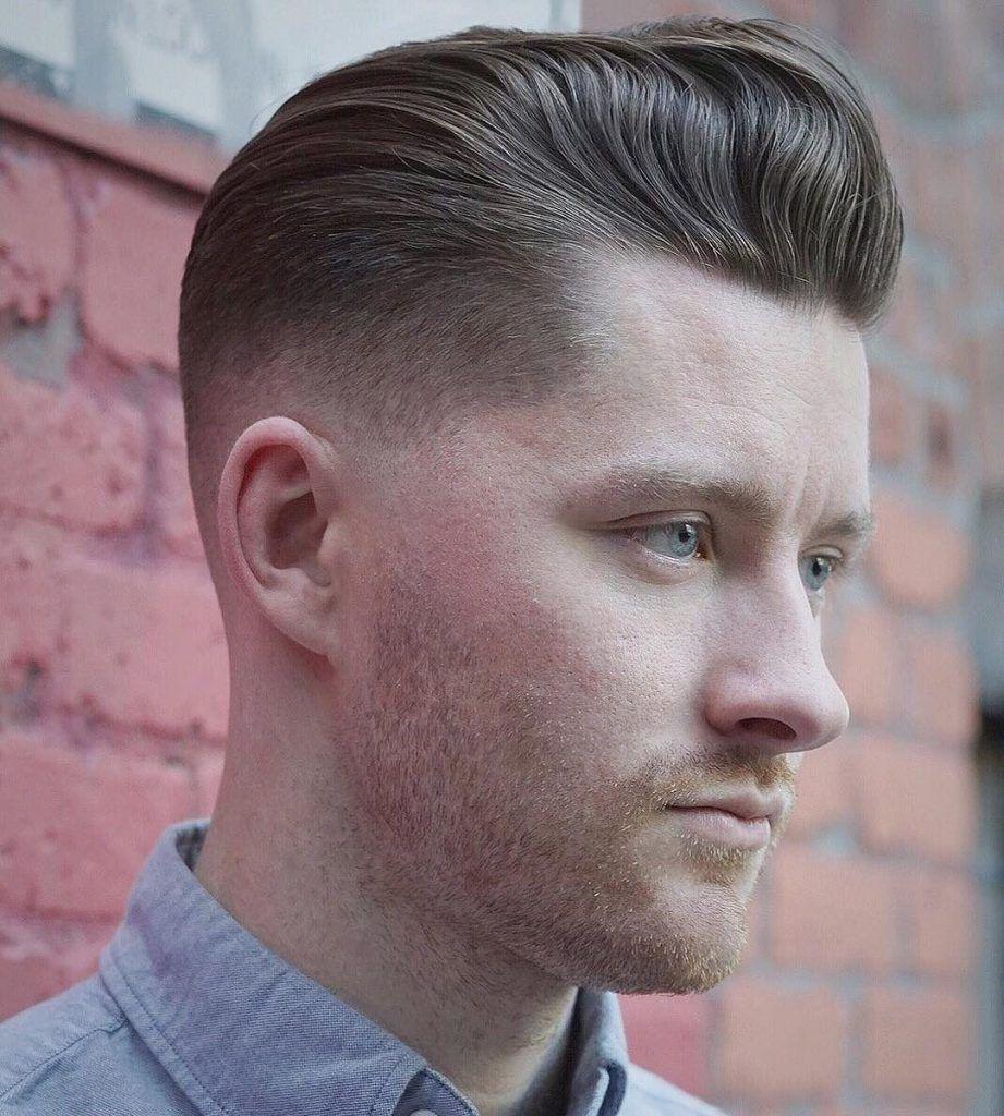 Pompadour Hairstyles For Men Gentlemen Hairstyles Frisyrer Man